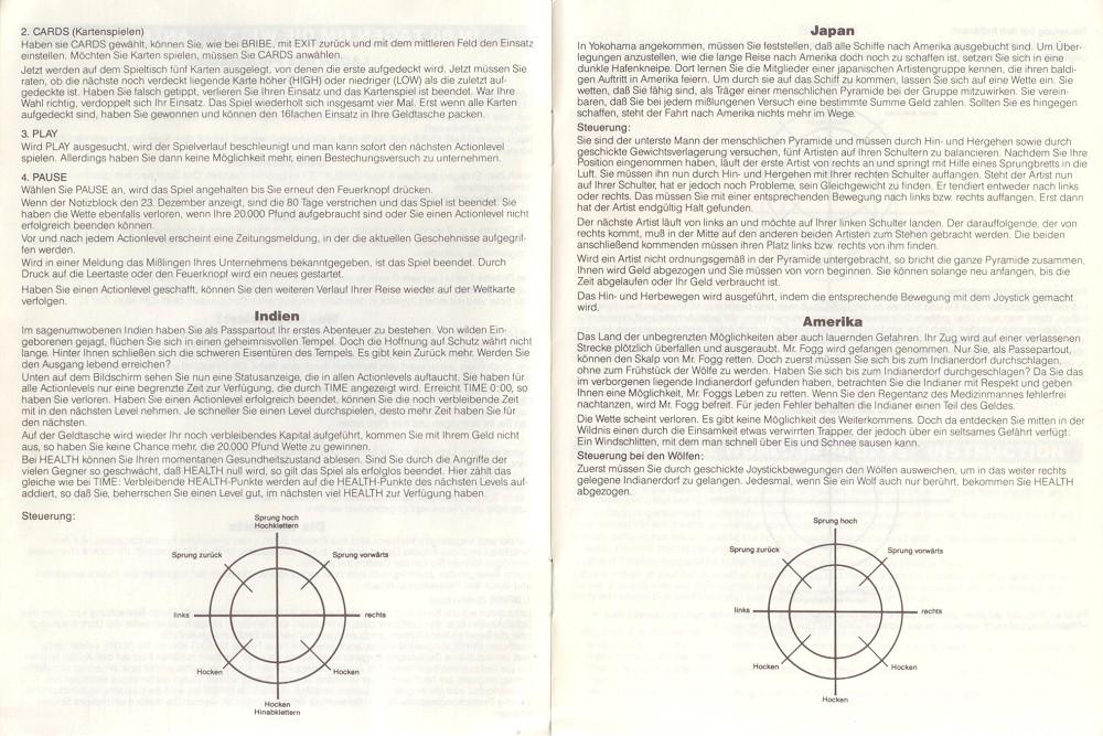 around the world game instructions
