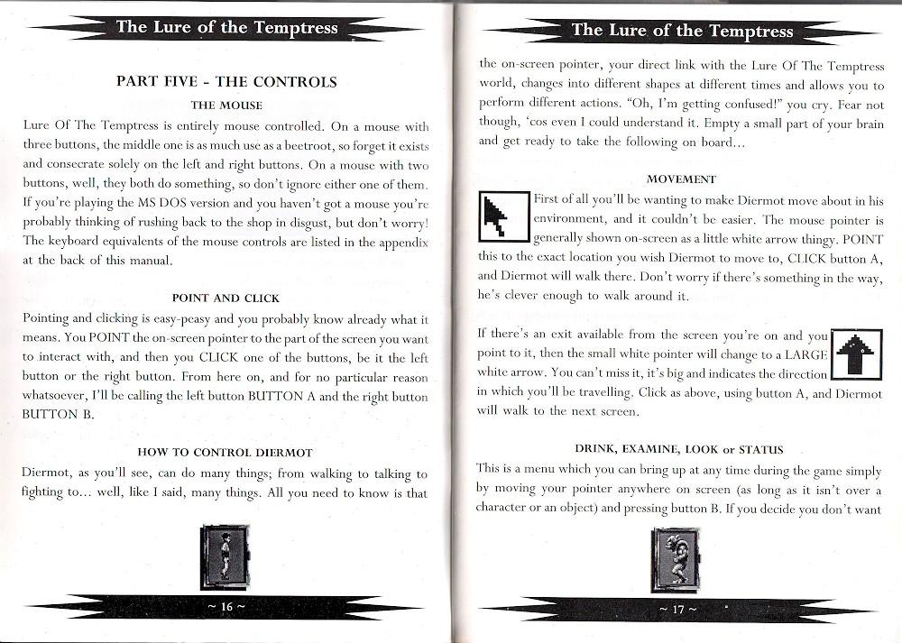 Atari St Lure Of The Temptress Scans Dump Download Screenshots