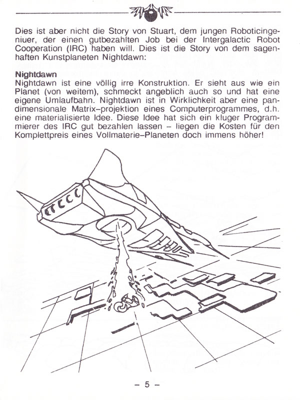 Atari ST Nightdawn : scans, dump, download, screenshots, ads, videos ...