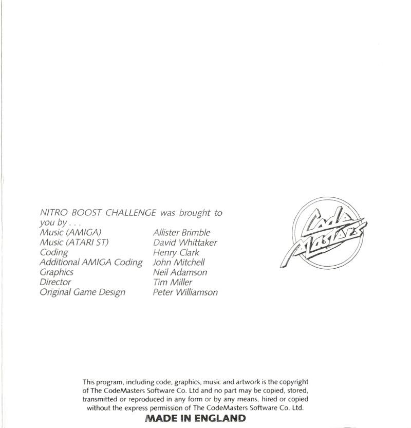 Atari St Nitro Boost Challenge Scans Dump Download Screenshots