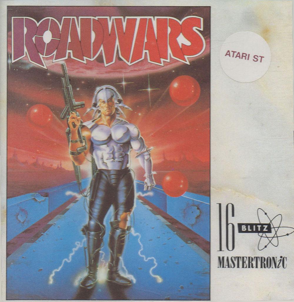 Atari St Road Wars Scans Dump Download Screenshots Ads Videos
