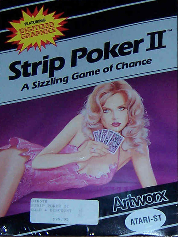 Atari ST Strip Poker II : scans, dump, download, screenshots ...