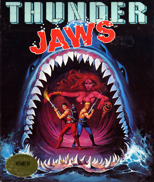 Atari ST Thunder Jaws : Scans, Dump, Download, Screenshots