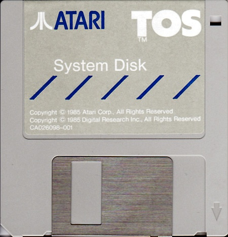 Atari ST TOS Systemdisk : scans, dump, download, screenshots