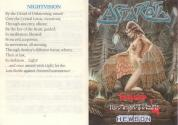 Astaroth - The Angel of Death Atari instructions