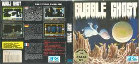 Bubble Ghost Atari disk scan