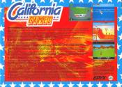 California Games Atari disk scan