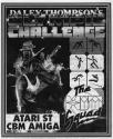 Daley Thompson's Olympic Challenge Atari instructions