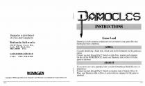 Damocles -Mercenary II Atari instructions
