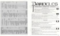 Damocles - Mercenary II Atari instructions