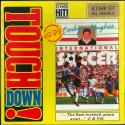 Emlyn Hughes International Soccer Atari disk scan