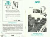 Impossible Mission II Atari instructions