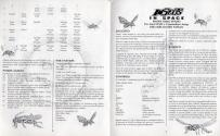 Insects in Space Atari instructions