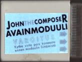 John the Composer Atari disk scan