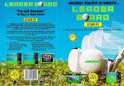 Leader Board Pro Golf Simulator Atari disk scan