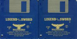 Legend of the Sword Atari disk scan