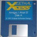 Lethal Xcess - Wings of Death II Atari disk scan