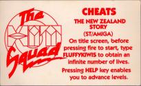 New Zealand Story (The) Atari instructions