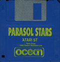 Parasol Stars - The Story of Rainbow Islands II Atari disk scan