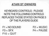 R-Type Atari instructions