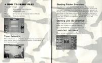 RBI Baseball II Atari instructions