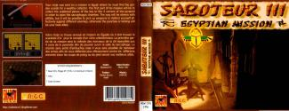 Saboteur III - The Egyptian Mission Atari disk scan