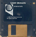 Saint Dragon Atari disk scan