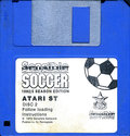 Sensible Soccer European Champions - 1992/3 Season Edition Atari disk scan