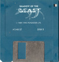 Shadow of the Beast Atari disk scan