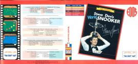 Steve Davis World Snooker Atari disk scan