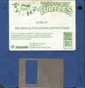 Teenage Mutant Hero Turtles Atari disk scan