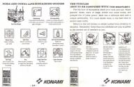 Teenage Mutant Hero Turtles Atari instructions