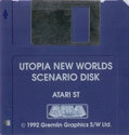 Utopia - The New Worlds [Data Disk] Atari disk scan