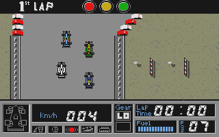 F1 GP Circuits atari screenshot