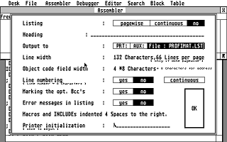 AssemPro atari screenshot