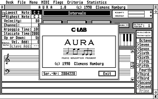 Aura atari screenshot