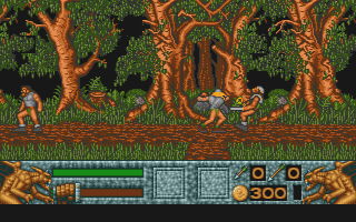 Barbarian II atari screenshot