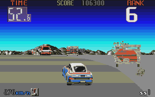 Big Run atari screenshot