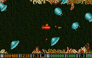 Blood Money atari screenshot
