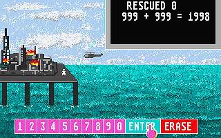 Classroom Maths II atari screenshot