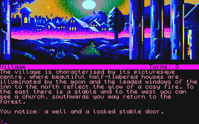 Curse of Rabenstein (The) atari screenshot