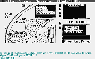 Death of a President (The) atari screenshot
