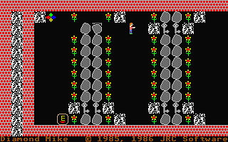 Diamond Mike atari screenshot