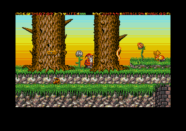 Enchanted Land atari screenshot