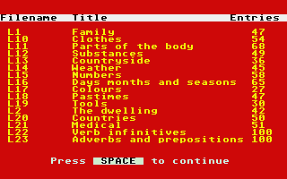 Family Curriculum II - GCSE Revision Module atari screenshot