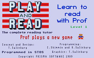 Family Curriculum - Play and Learn Module atari screenshot