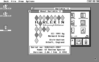 Harlekin atari screenshot