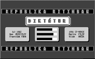 Diktátor atari screenshot