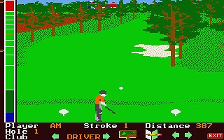 Mean 18 Famous Course Disk atari screenshot