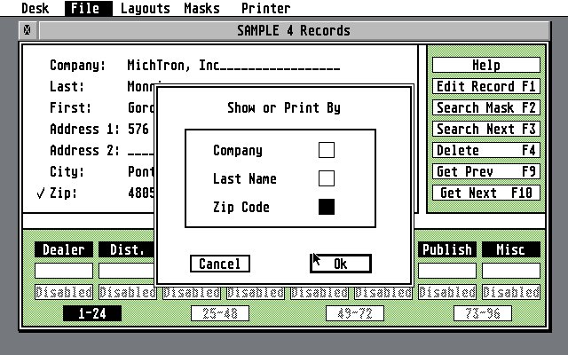Mighty Mail atari screenshot